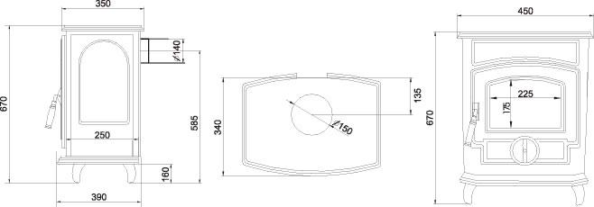 wasserf hrende zentralheizungs kamine ab 690 euro und kamin fen von stad buderus ecoidro. Black Bedroom Furniture Sets. Home Design Ideas